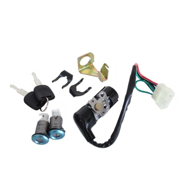 Gy6 50cc 125cc 150cc Moped Motorcycle Scooter New Ignition Switch Key Set for Honda DIO 50 SE50 SK50 SA50 Elite Scooter 8z1181