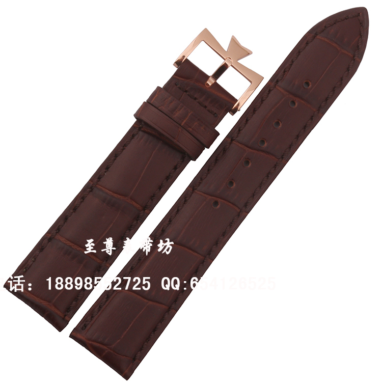 Crocodile Grain Leather Watchband Accessories Brown Watch band Straps Bracelets 18mm 19mm 20mm 21mm 22mm For Brand fast delivery alligator leather watchband brand style straps bracelets wristwatches accessories with free buckle deployment 20mm 21mm 22mm new