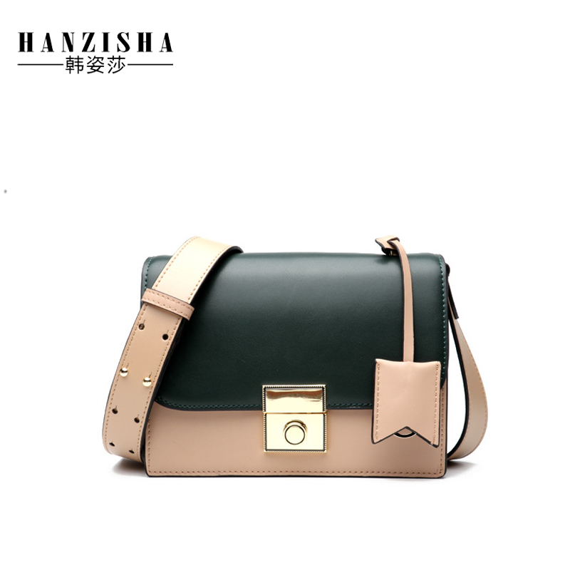 2018 Fashion Genuine Leather Women Messenger Bag Famous Brand Bag Women Flap Bag Luxury Design Pattern Women Crossbody Bag цена