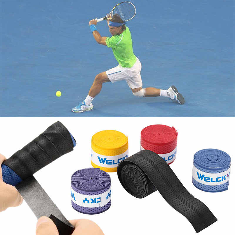 Badminton Accessories Anti-Slip Handle Tennis for Welcky Tape Fishing Rod Badminton Sweatband Anti-Sweat