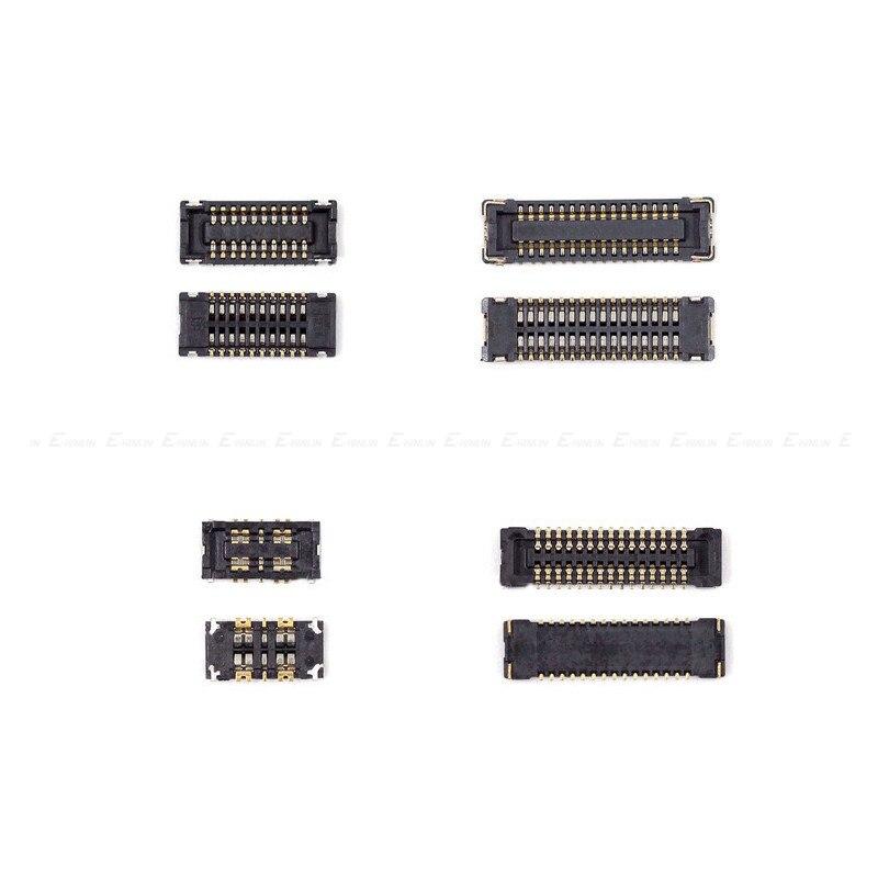 Conector FPC Para O iPad 2 3 4 5 6 ar air2 Mini 1 2 3 4 Lcd Digitador da Tela de Toque clipe conector Na Placa Mãe Placa Principal