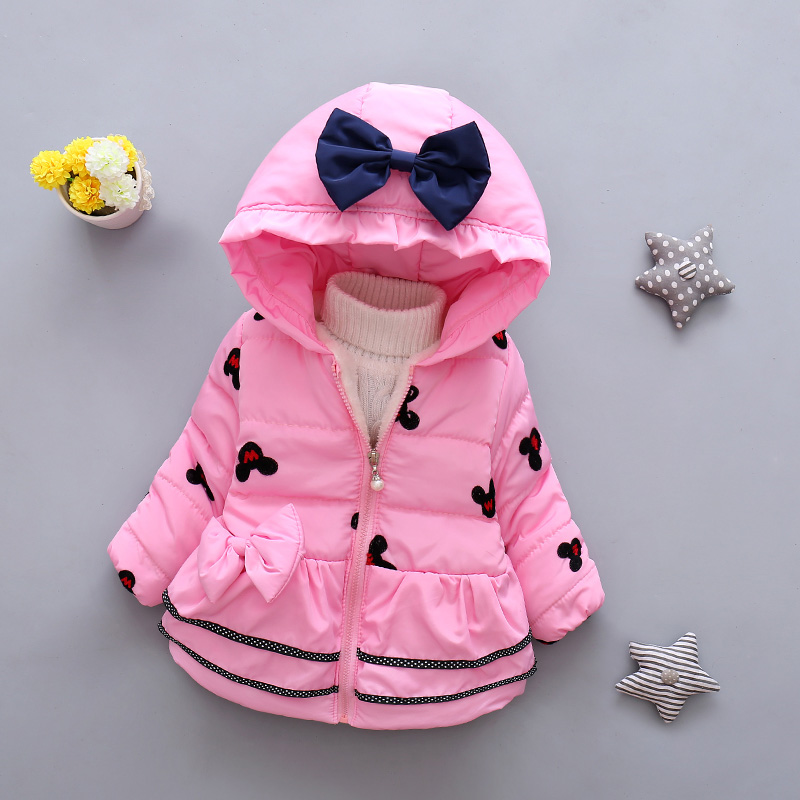 LZH Baby Girls Jacket 19 Autumn Winter Jacket For Girls Coat Kids Warm Hooded Outerwear Coat For Girls Clothes Children Jacket 12