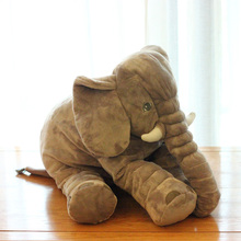 65cm Large Plush Elephant Baby Sleeping Pillow Soft Elephant Baby Sleep Toy