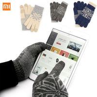 Xiaomi Touchscreen Handschuhe Finger Bildschirm Berühren Handschuhe Winter Warme Wolle Gaming Handschuhe für Frauen Männer Geburtstag Beste Geschenk