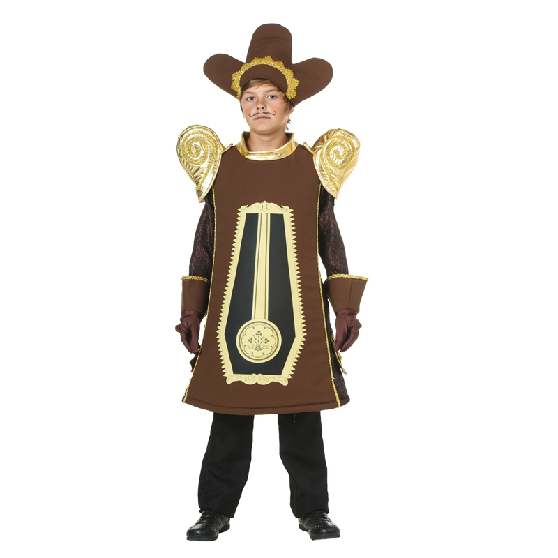 Child Mantel Clock Costume Movie Beauty And The Beast Role Cogsworth Majordomo Of the Beast Great For Stage Dressing Up
