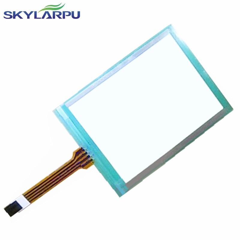 цена на skylarpu 5.7 inch resistive touch screen industrial grade 4 hole pin headers digitizer panel screen