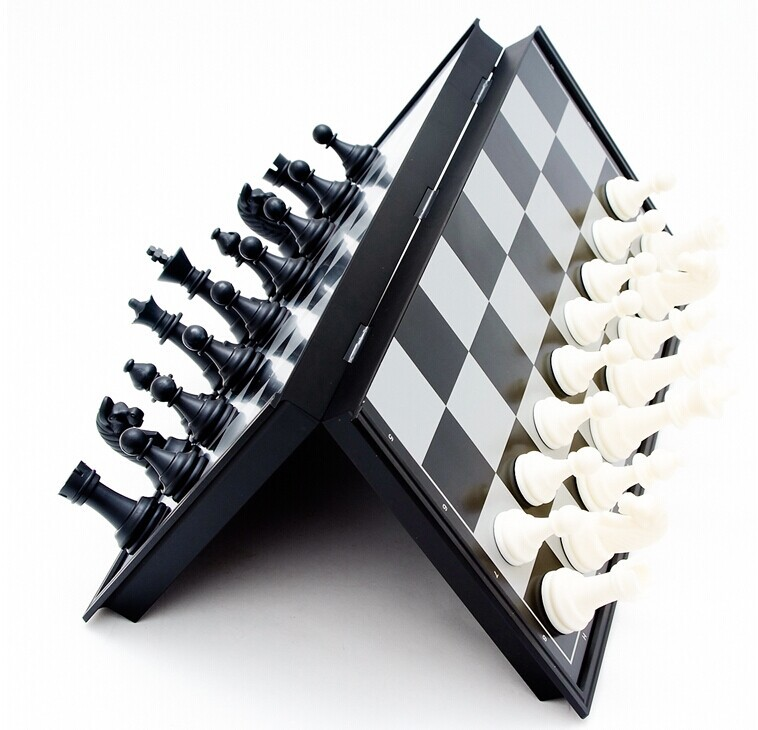 Portable Magnetic Folding Chess Game Board chesses Special Foreign Trade Training Games of Outdoor Fun Gift