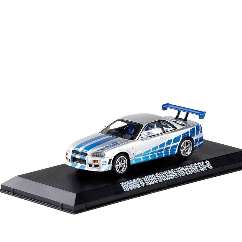 1/43 Brian`s 1999 Nissan Skyline GT R R34 Diecast Sport Miniature
