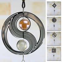 Carillon di vento Spinner A Spirale Rotante Sfera di Cristallo carillon di Vento Auto Pendente & Garden Home Decor & Wall Hanging Dream Catcher regalo