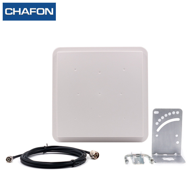 CHAFON RFID UHF 8dBi RFID Circular polarization Antenna 865~868Mhz/ 902~928Mhz for sports timing system 865 868mhz or 902 928mhz customized abs material waterproof linear circular polarization high gain 12dbi rfid uhf antenna