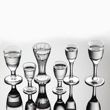 6pcs/set Mini Crystal Shot Glass