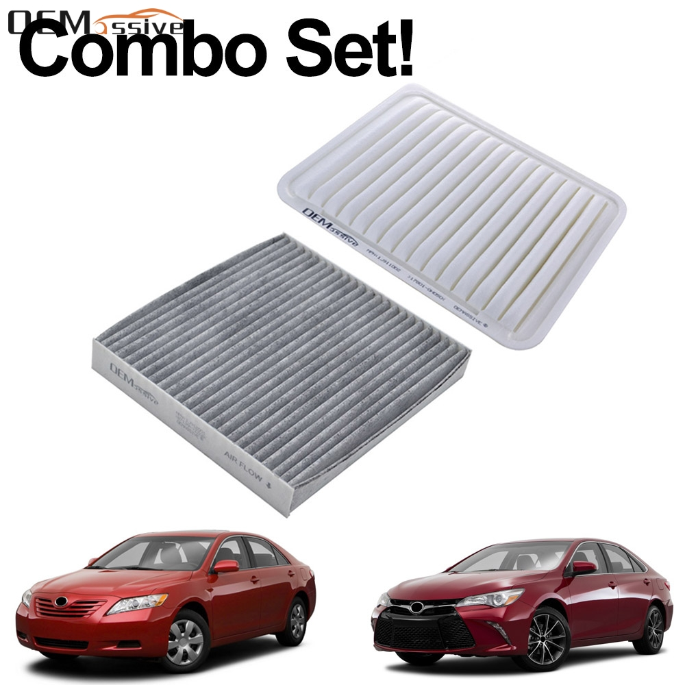 COMBO AIR FILTER /& CHARCOAL CABIN AIR FILTER for 2005-2017 TOYOTA TACOMA 2.7L