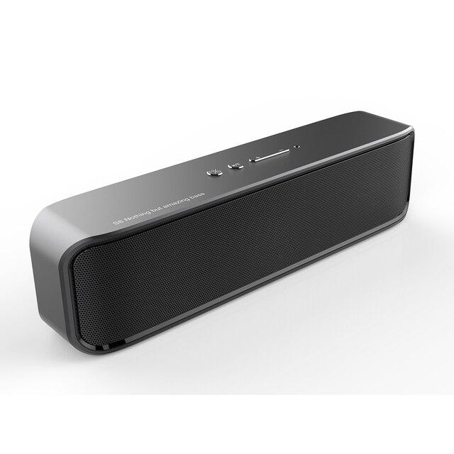 Altavoz inalámbrico Subwoofer barra de sonido 20 W Bluetooth caja de sonido con micrófono estéreo música TF manos libres portátil Loundspeakers