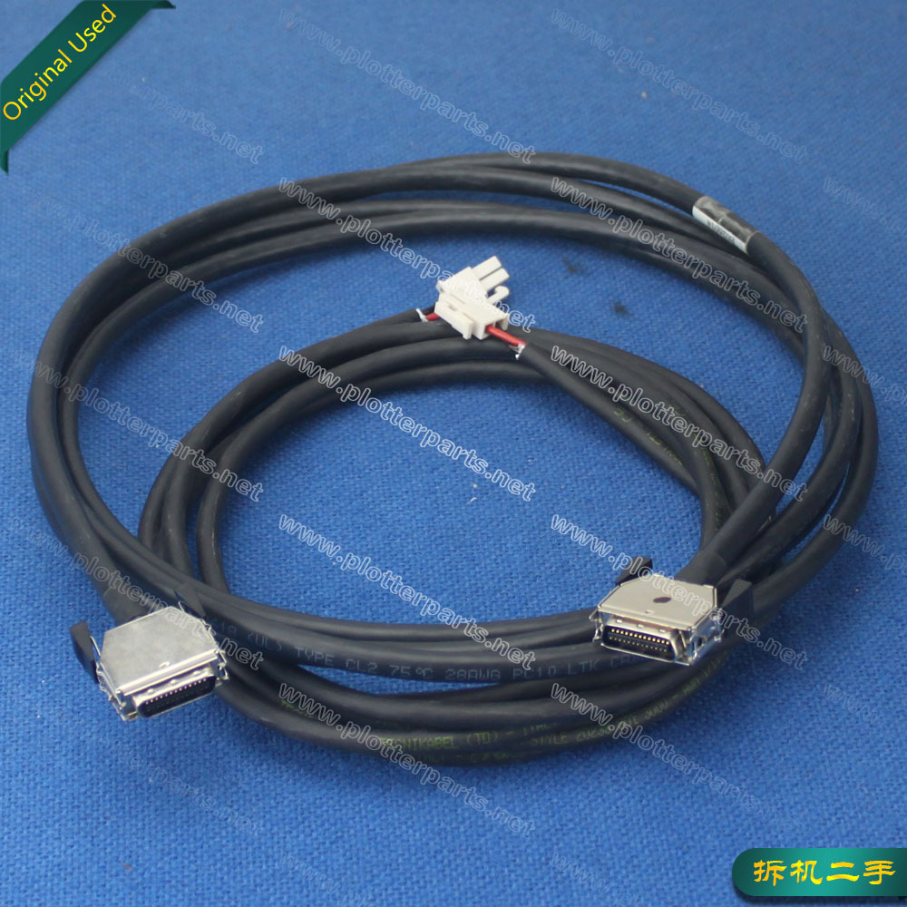 Q1273-60158 Carriage assembly trailing cables for HP DesignJet 4000 4500 Z6100 42-Inch plotter part used