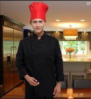 Autumn 2017 Long sleeve Chef jacket Cake&Bakery Woman Chef uniform cotton