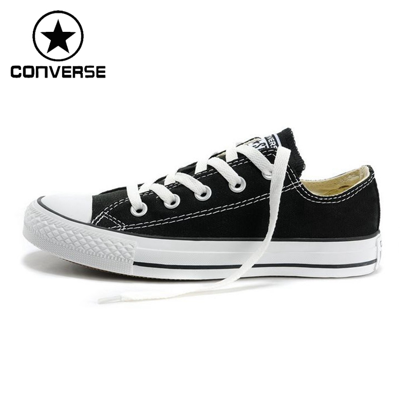 496090a1c23 Authentic Converse Classic Canvas Low Top Skateboarding Shoes Unisex  Anti-Slippery Light Wear-resistant Low-top Flat Sneakers