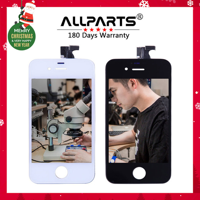 No Dead Pixel AAA Grade NO Dead Pixels 3.5'' Screen For iPhone 4 4S LCD Display Touch Screen Digitizer Assembly Replacement
