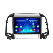 2G 32G optional android 6.0 car gps multimedia video radio player  in dash for HYUNDAI Santa fe navigation stereo
