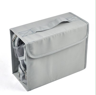Portable Folding Multifunctional Storage Organizer Bag Case Storage COSMETIC BAG free shipping
