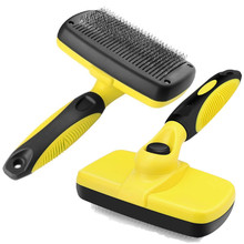 Pet Grooming Brush Deshedding Tool For Dogs Pets Slicker Cat Dog Comb Glove Removing Hair for Small Large