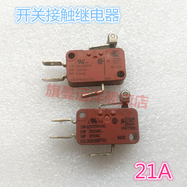 X3L302K6DDT02 Microswitch 21A relay switch contactor