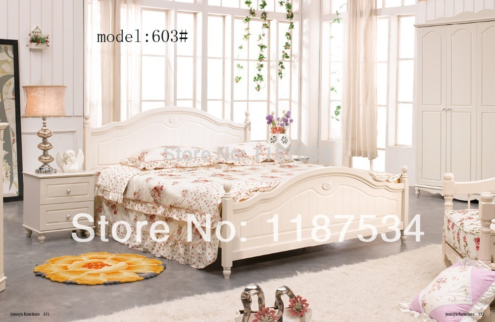 Modern home furniture bedroom set bed wardrobe nightstand bedroom furniture set