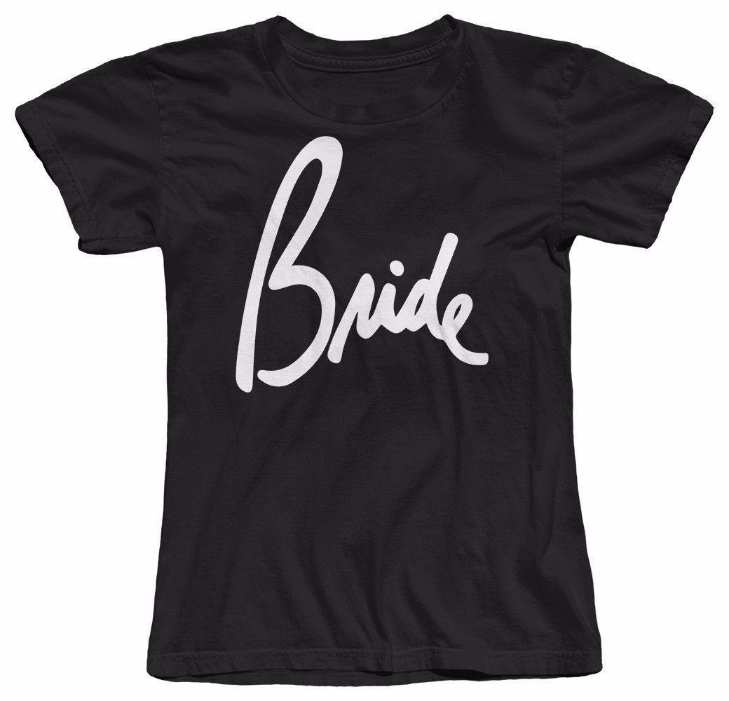 Bride Womens T Shirt Wedding Marriage Bachelorette Party Shirts