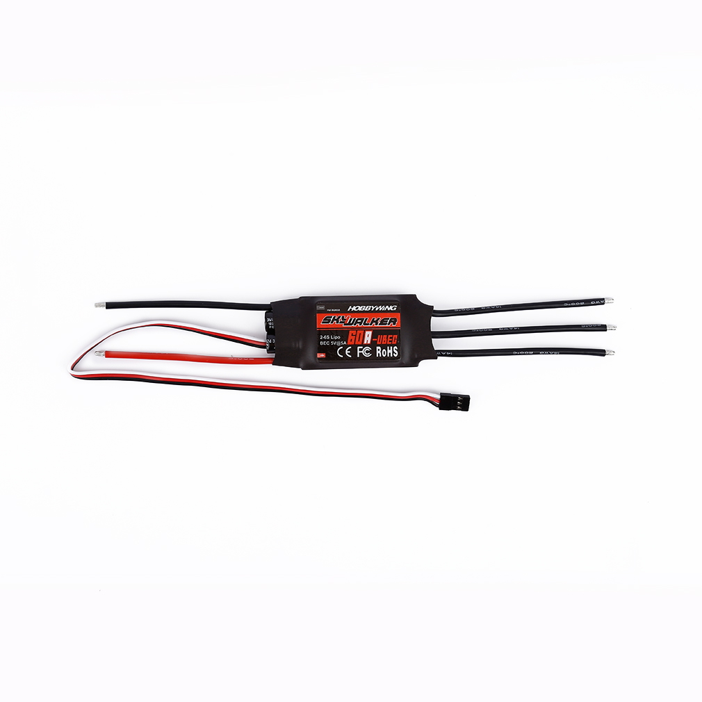 Image 5 - 1pcs Hobbywing Skywalker 20A 30A 40A 50A 60A 80A ESC Speed Controler With UBEC For RC FPV Quadcopter RC Airplanes Helicopter-in Parts & Accessories from Toys & Hobbies