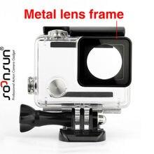 SOONSUN Onderwater Waterdichte Behuizing Case voor GoPro Hero 4 3 + 3 Beschermhoes Hard Box voor Go Pro 3 3 + 4 Camera Accessoires