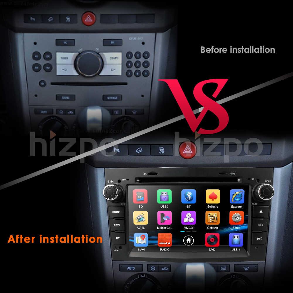 """7 """"HD полный сенсорный экран автомобильное радио DVD gps для Opel Corsa Astra Zafira Vectra Meriva Черный Серебристый вариант SWC DAB DVB-T2 карты"""