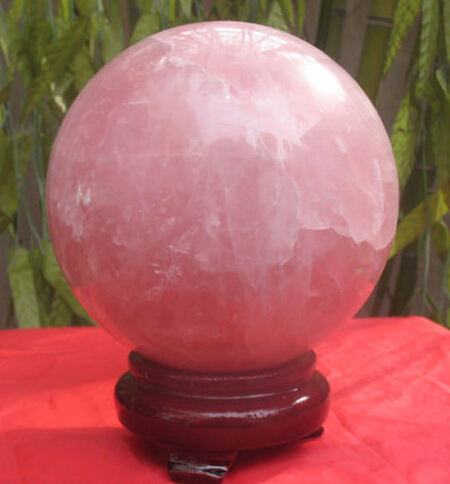 wholesale 2555g NATURAL QUARTZ CRYSTAL stone BALL Healing Gem stone Magic Crystal Healing Ball stone