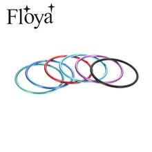 Acessórios de alumínio do material do anel enchido intercambiáveis dos anéis internos da largura do anel 1mm de floya boho