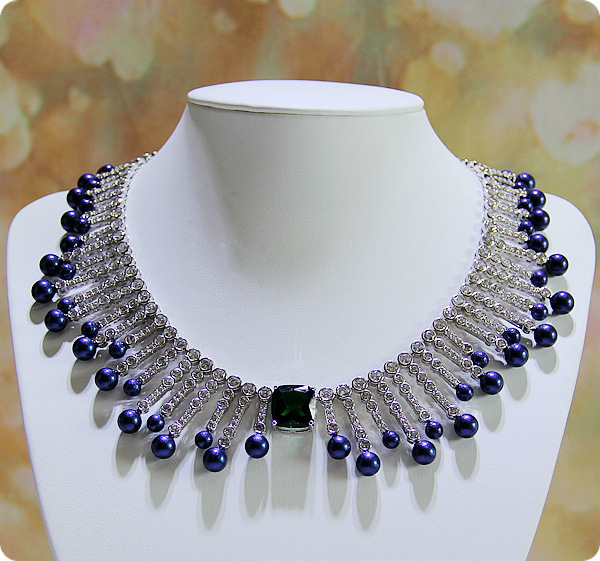 Branded necklace zircon dinner will dress accessories bridal dress accessories jewelry