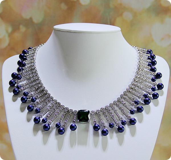 Branded necklace zircon dinner will dress accessories bridal dress accessories jewelry