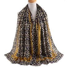 Шарфы, зимний Леопардовый шарф, шарф в полоску, шейный платок, принт Леопардо, роскошный бренд Foulards мусульманский хиджаб, шарфы для женщин