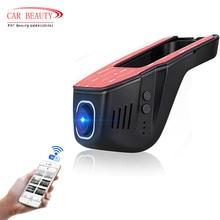 цена на Hidden Super FHD 1080P WIFI Car DVR  Dash Cam Night vision Car Camera Black box With Novatek 96658 Chip and Sony IMX322 Sensor