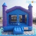 Comercial barato Púrpura Color Castillo Gorila Inflable para Los Niños