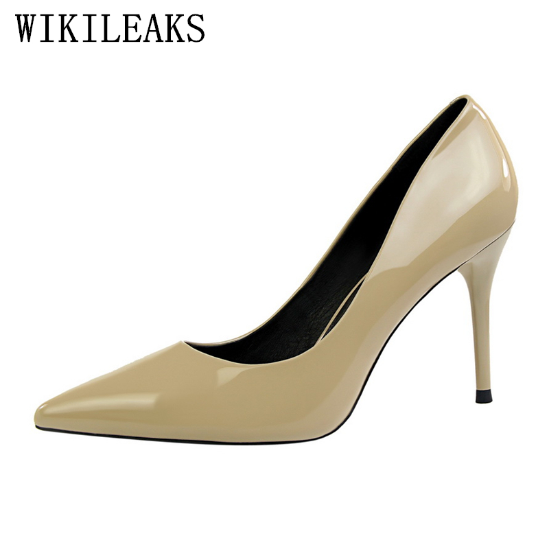 Buy fetish extreme high heels shoes woman pumps women shoes high heel ladies party dress wedding shoes designer brand bigtree shoes