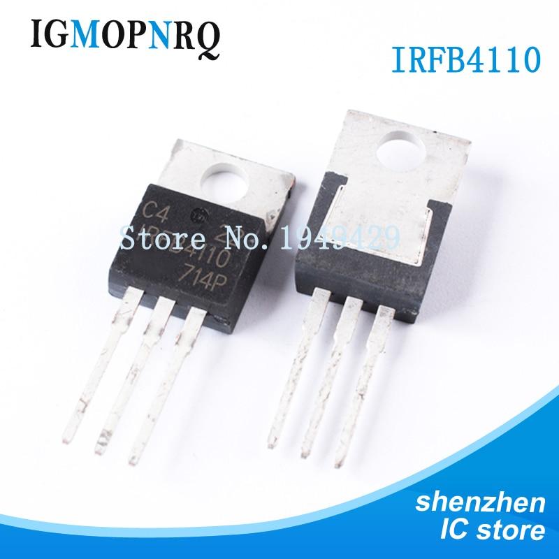 10 шт., IRFB4110 FB4110 B4110 IRFB4110PBF 100 в, 3.7mO, 180A, 370 Вт FET 100% TO-220, новая гарантия качества