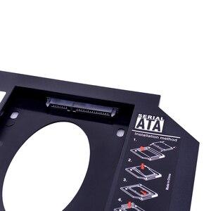 Переходник CHIPAL для установки второго жесткого диска, 9,5 мм, SATA 3,0 SATA 2,5 дюйма, чехол для SSD, HDD, пластиковый жесткий диск, переходник для ноутбука, фотоадаптер|Корпус жесткого диска|   | АлиЭкспресс