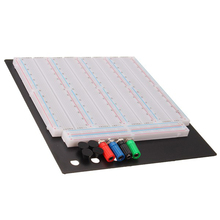 ใหม่ 3200 Hole การทดสอบ Solderless Breadboard PCB ต้นแบบบอร์ดโมดูลสำหรับ Arduino