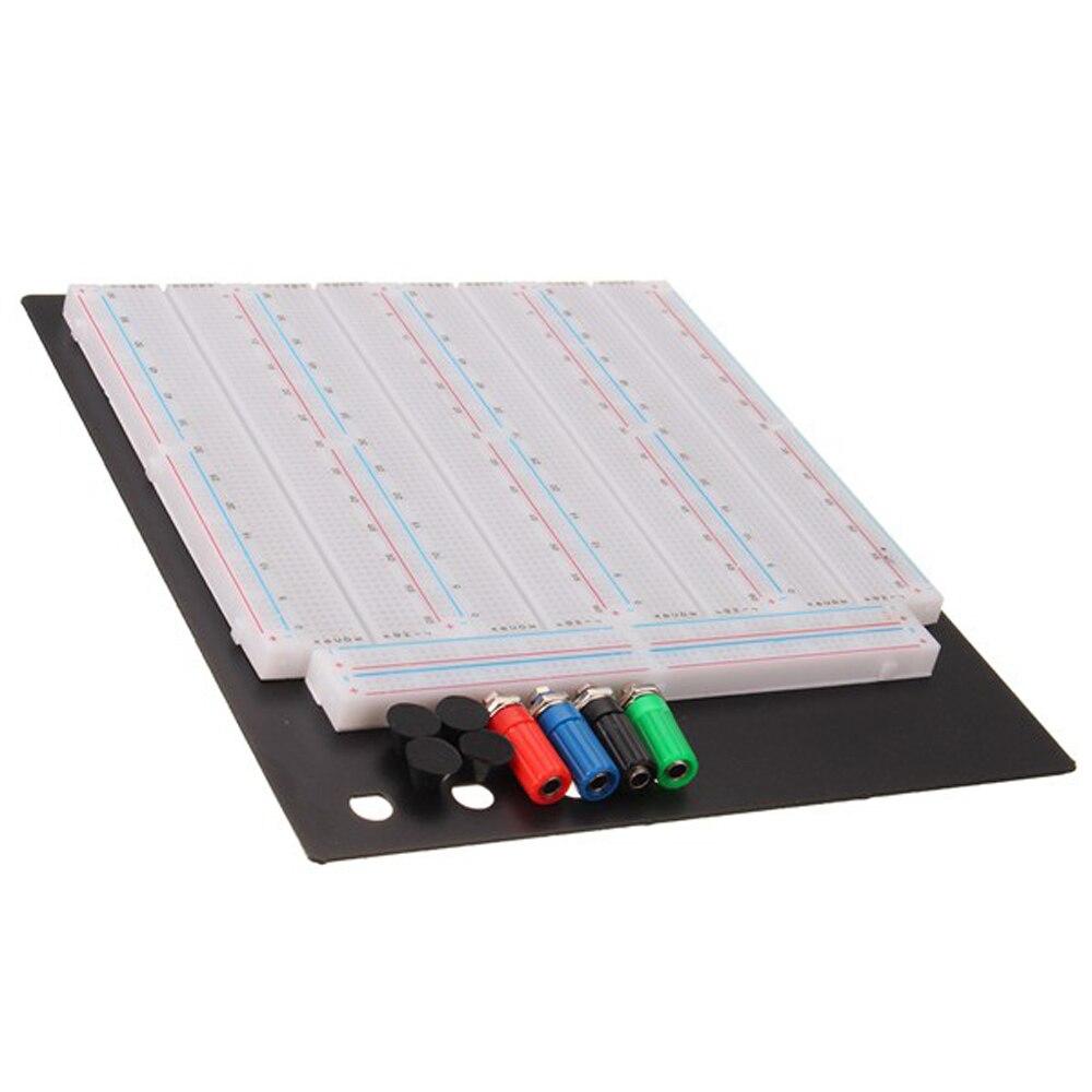 NOUVEAU 3200 Trou Soudure Test Planche À Pain Avec PCB Prototype Conseil Module Pour Arduino
