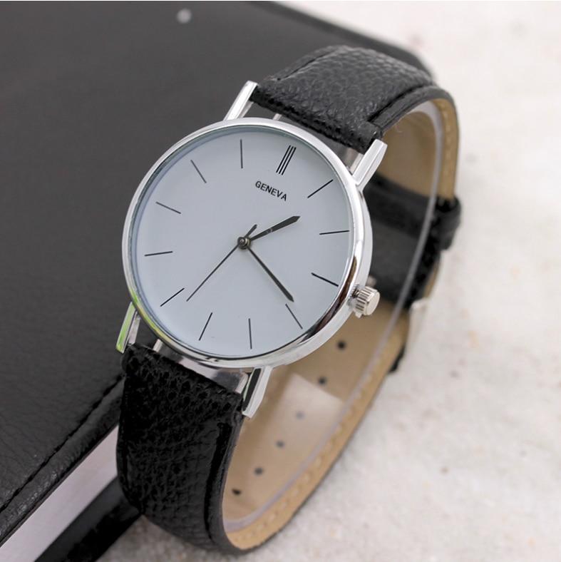 2018 Hombre de negocios Reloj de cuero genuino Compelet calendario - Relojes para hombres