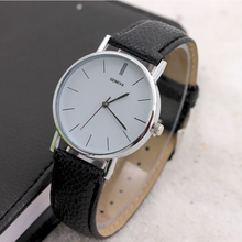 2018 Man Business Watch Äkta Läder Kompletskalender Casual Quartz Män Armbandsur Fashion Unique Minimalism Clock