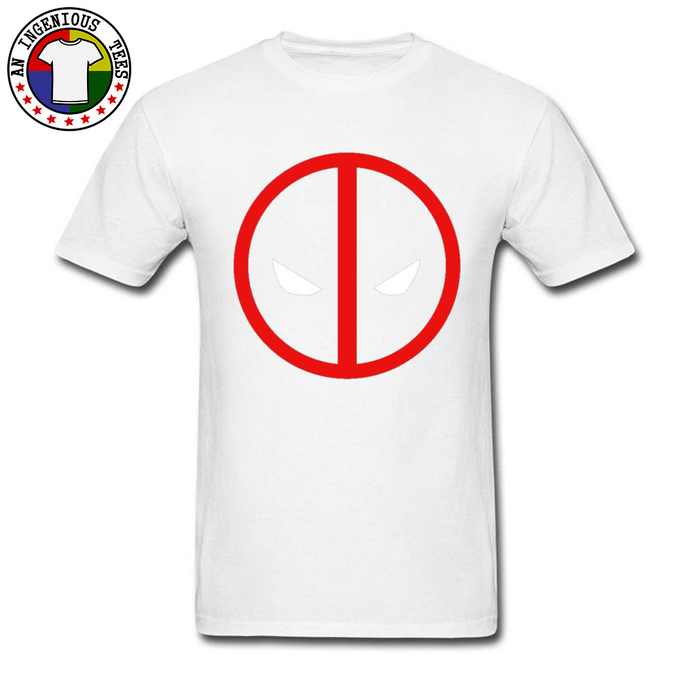 Dead Pool 1226 April FOOL DAY Pure Cotton O Neck Tops Shirts Short Sleeve Geek T-shirts 2018 New Fashion Leisure Top T-shirts Dead Pool 1226 white