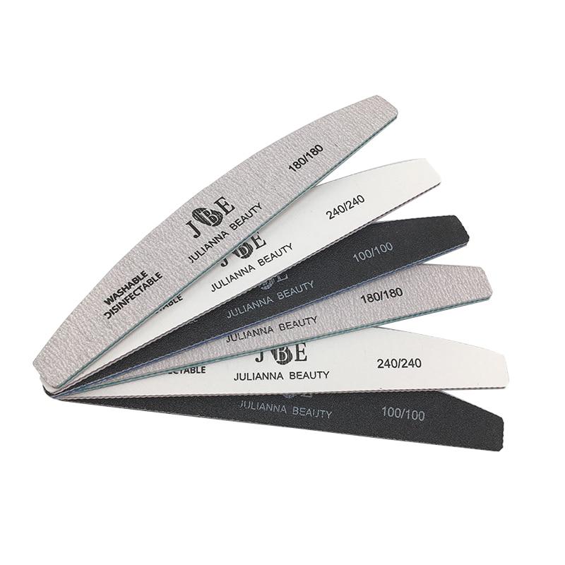 Купить 6 шт / компл профессиональная пилочка для ногтей 100/180/240