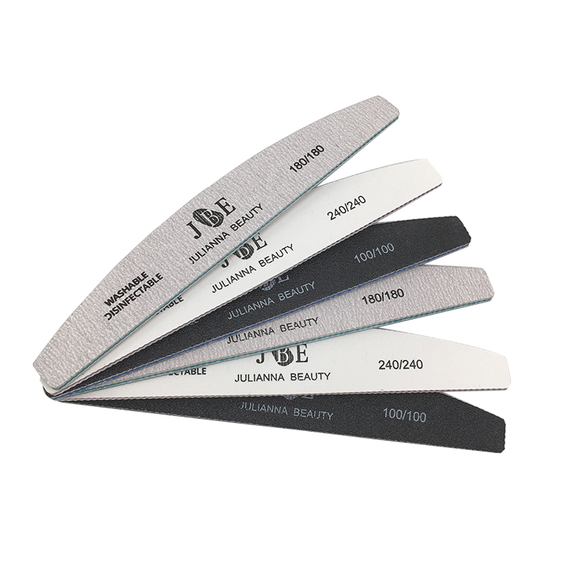 6Pcs/Set Professional Nail File 100/180/240 Sandpaper Nail Sanding Blocks Grinding Polishing Manicure Care Tools