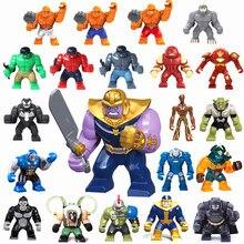 NEW Super Heróis Os Vingadores filme Blindado Bathero Figura Modelo Building Blocks brinquedos Infinito Guerra compatível LegoINGly Batman