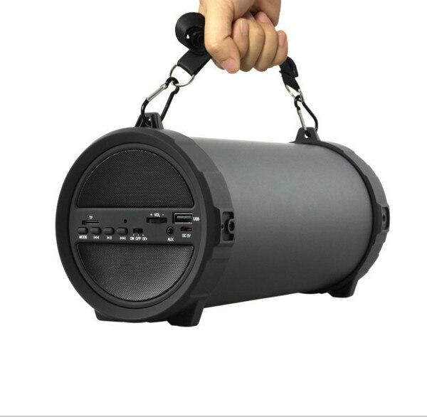 ФОТО 89MM Big Bass Outdoor Bluetooth Speaker Wireless Sports Portable Subwoofer Bike Car Music Speakers Radio FM Piazza Player