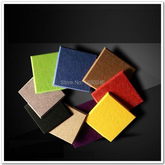 decorative acoustic panels. Free Shipping 36pcs 40*40cm Polyester Material Acoustic Panels/ Material/ Soundproof Panels Decorative